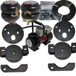 B 2001 10 Chevy 2500hd Towing Assist Over Load Air Bag Suspension Kit No Drill