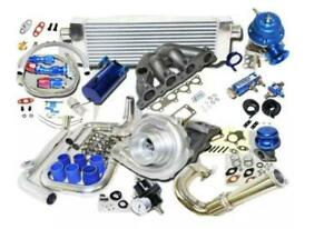 Completed Turbo Kits For Honda Civic D15z1 D16z6 D16y7 D16y5 Ex Si 1 6lvtec E