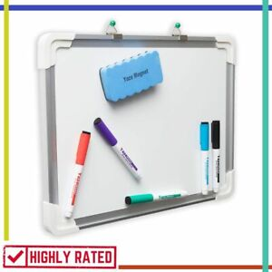 White Board Dry Erase Whiteboard For Kids Education Writing Drawing 15 x12