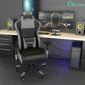 Yitahome High Back Computer Racing Gaming Chair Ergonomic Chair With Footrest