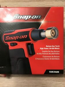Snap On Butane Gas Blow Torch 400 In Red 50 820 Watts New