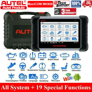 Autel Maxicom Mk808 Obd2 Car Diagnostic Scanner Tool With Service Functions