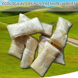 10pc Dry Sheep Casing Natural Sheep Sausage Cover sausage Skin 26 Meter