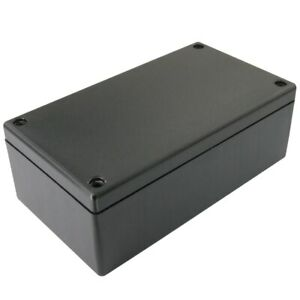 Abs Plastic Project Box 8 75 X 5 45 X 3 6 Inch Black