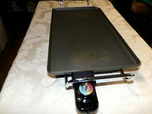 L Electric Griddle Flat Top Countertop Large Non Stick Grill Pa8300