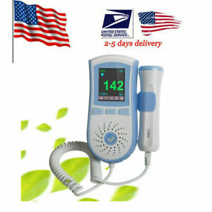 Fetal Doppler Prenatal Heart Monitor Prenatal Heart Rate Baby Sound probe Blue