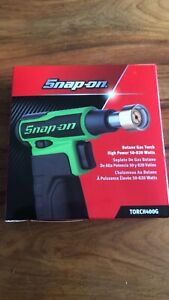 Snap On Butane Gas Blow Torch 400 In Green 50 820 Watts New