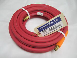 Goodyear Red Oil Resistant 50ft 3 8 Air Hose Hot Rod Shop Custom Shop Usa