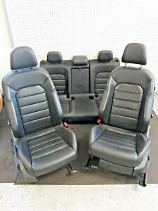 2015 17 Vw Golf Gti Seats 4 Door Mk7 Complete Seats Leather Red Stitching