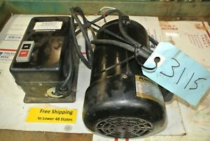 Powermatic Jointer Motor With Switch Pj882 3hp 230 460 V Shop Tool