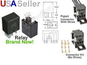 New Tyco Ford Lincoln 5 Pin Micro Relay F57b 14b192 aa F5t2 14n089 b Connector