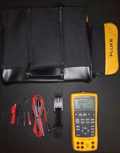 Fluke 725 Multifunction Process Calibrator Hardly Used With Accessories