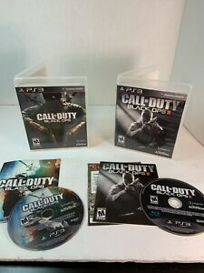 ps3 call of duty black ops And Black Ops 2 $24.00