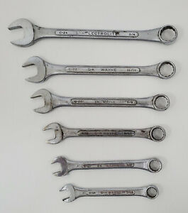 S k Wayne S k Combination Wrenches 12 Point Lot Of 6
