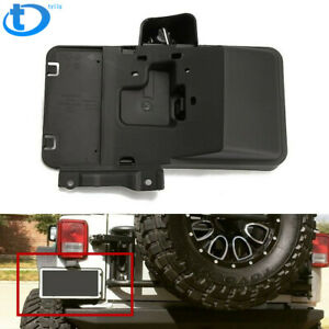 Rear License Plate Mounting Holder Bracket light For 2007 2017 Jeep Wrangler Jk