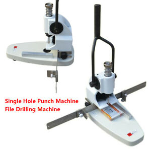 Qy t30 Single Hole Punching Machine B3 Bookmarks File Drilling Puncher Machine