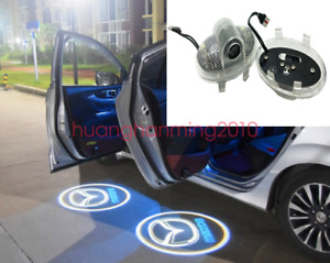 2x Led Door Courtesy Logo Light For Mazda 6 Second Generation 2008 2012