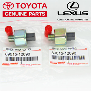 New Set Of 2 Pcs Knock Sensors 8961512090 Fits Toyota Lexus 2006 2002