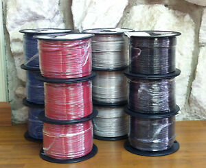 500 Ft Thhn thwn Wire 14 Awg Stranded 600 Volt Made In Usa Comes In 9 Colors
