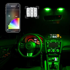 Led Dome Light Bulb Kit Xkchrome Smartphone App Controlled Ultra Bright Glow