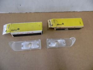 Nos Pontiac 1967 Grand Prix Parking Lamp Lenses Pair 12