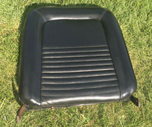 1967 Ford Mustang Seat Back black std Passenger rh