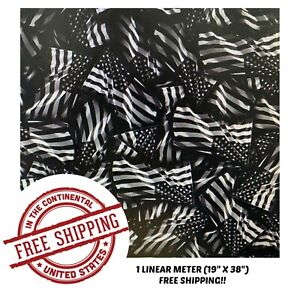 Hydrographic Film Water Transfer Hydro Dipping Dip Film 1m American Flag 4