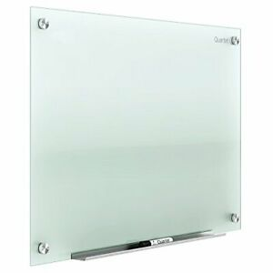 glass Whiteboard Non magnetic Dry Erase White Board 3 X 2 Frosted Surface