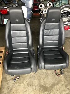 2012 Mk6 Vw Golf R Leather Seats Heated Front Rear Bench Set Factory Oem