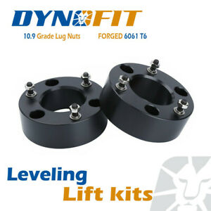 2 5 Front Lift Leveling Kit Fit For 07 2019 Gmc Sierra 1500 4wd Pro Black 6lug