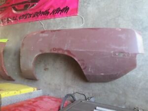 1970 1971 Cuda Barracuda Oe Nos Take Off Convertible Quarters Hemi 440 383 340