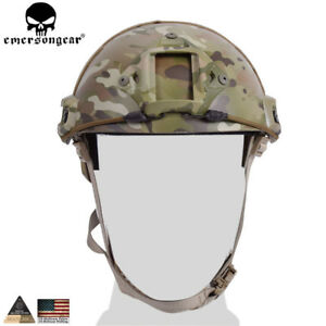 EMERSON FAST Helmet MH Type Tactical Airsoft Hunting Combat Safety Adjustable HC $54.95