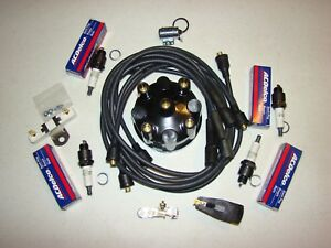 International Harvester Scout 80 800 New 4 Cyl Comprehensive Tuneup Kit Holley