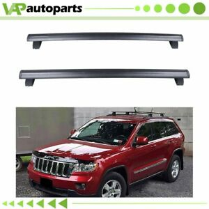 For 2011 2019 Jeep Grand Cherokee Front Rear Roof Top Rack Cross Bar Luggage 2x