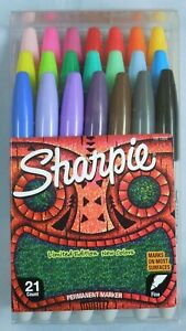 Sharpie Limited Edition 21 Count Ultra Fine Permanent Marker Set Brand New