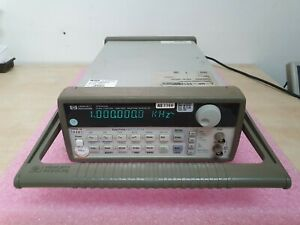 Hp 33120a Function Arbitrary Waveform Generator 15mhz