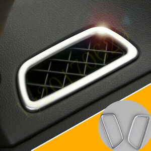 Silver Dashboard Upper Air Vent Outlet Cover Trim For Honda Cr v Crv 2012 2016