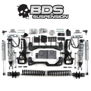 Bds Suspension 2013 2018 Dodge Ram 1500 4wd 6 Inch Coilover Lift Kit No Air 671f