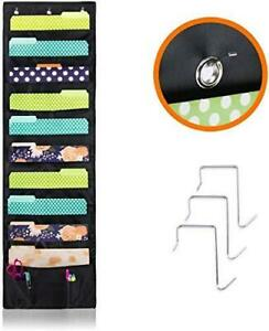 Cascading Hanging File Folder Holder Organizer For Office Wall Home
