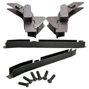 Rear Trail Arm Skid Plate Center Frame Rust Repair Kit For Jeep Wrangler Tj 98