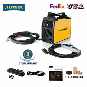 No Gas Mig Welder Flux Cored Wire Gasless Automatic Feed Welding Machine Igbt