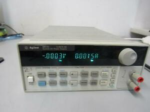 Agilent 6611c Low Noise Programmable Lab Power Supply 0 8v 0 5a Precision Linear
