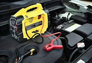 8 In Portable Power Source Emergency Car Battery Jump Starter Air Compressor