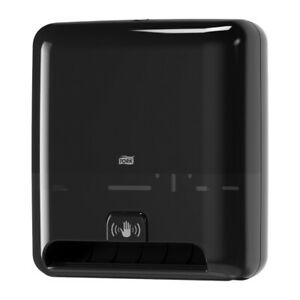 Tork 5511282 Matic Hand Towel Roll Plastic Dispenser With Intuition Sensor Black