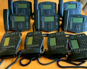 Lot Of 10 Polycom Soundpoint Ip 501 Sip Voip Phone Poe 2201 11501 001