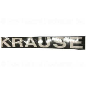 Kuhn Krause Decal 6 X 48 Part 74 602