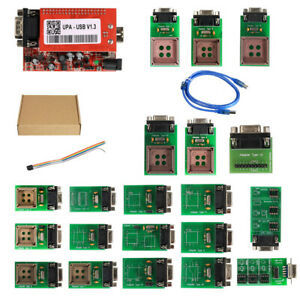 Upa Usb Programmer Contain Full Adapters V1 3 Support Added 24c1024 24c1025