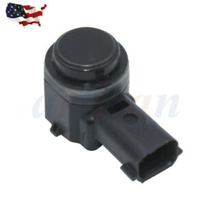 New Rear Car Reverse Backup Parking Aid Sensor Pdc For Ford Hc3z15k859a Black