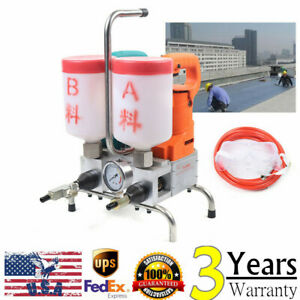 Durable High Pressure Grouting Machine Grout Injection Pump110v 220v Highquality