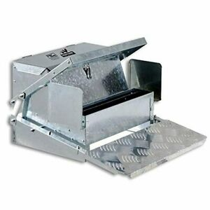 Superhandy Chicken Feeder Automatic 20lbs 9kg Capacity Trough Feeds 6 12 Poult